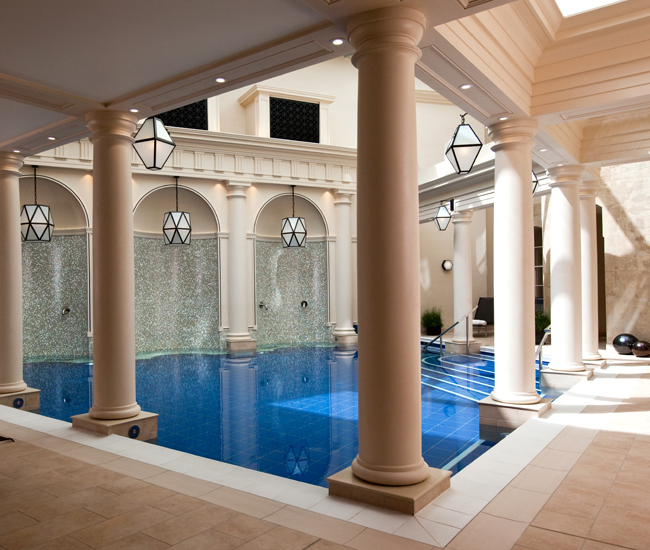 A roman legacy a new way to take the waters in bath for Small luxury spa hotels